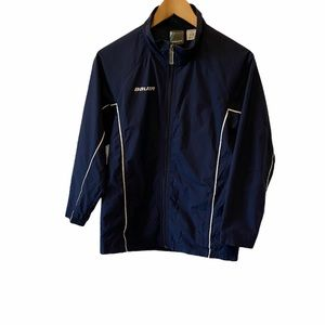 YOUTH BAUER Navy Light Athletic Jacket M